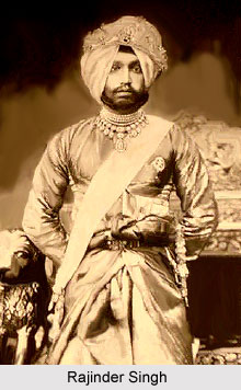 Rajinder Singh, Maharaja of Patiala
