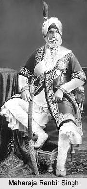 Ranbir Singh, Maharaja of Jammu and Kashmir