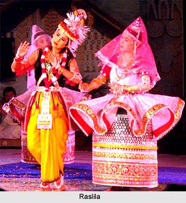 Raslila, Indian Folk Dance