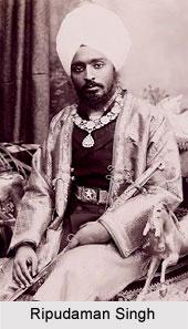 Ripudaman Singh, Maharaja of Nabha