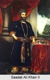 Saadat Ali Khan II, Nawab Wazir of Awadh