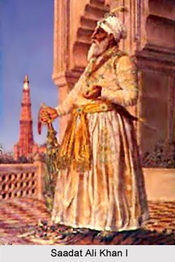Saadat Ali Khan I, Subahdar Nawab of Awadh