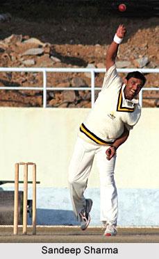 Sandeep Sharma, Himachal Pradesh Cricket Player