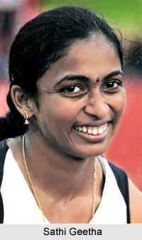 Sathi Geetha, Indian Sprinter