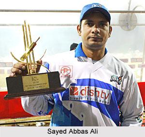 Sayed Abbas Ali, Madhya Pradesh Cricket Player