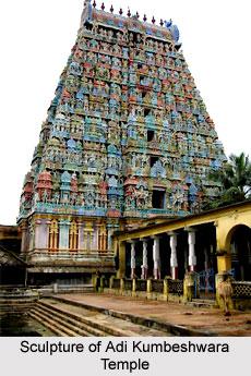 Sculpture of Adi Kumbeshwara Temple