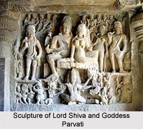 Sculpture of Ellora Kailasanathar Temple, Maharashtra