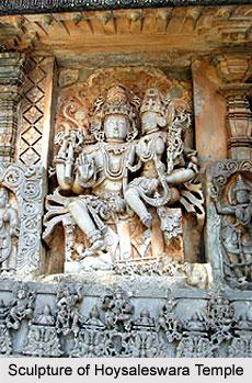 Sculpture of Hoysaleswara Temple