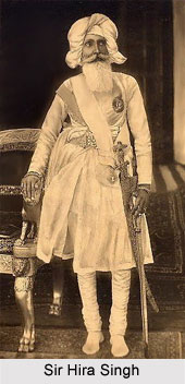 Sir Hira Singh, Maharaja of Nabha