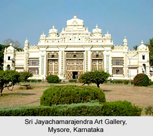 Sri Jayachamarajendra Art Gallery, Mysore, Karnataka