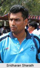 Sridharan Sharath, Tamil Nadu Cricket Player