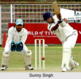Sunny Singh, Haryana Cricket Player