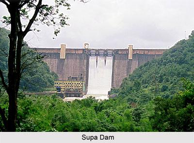 Supa Dam, Karnataka