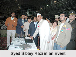 Syed Sibtey Razi, Governor of Assam in an Event