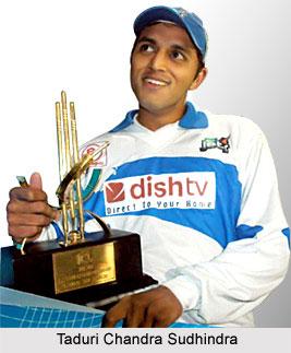 Taduri Chandra Sudhindra, Madhya Pradesh Cricket player
