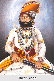 Takht Singh, Maharaja of Ahmednagar