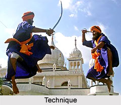 Technique of Gatka