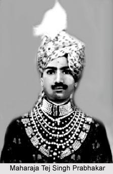 Tej Singh Prabhakar, Maharaja of Alwar
