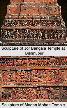 Temple sculpture of West Bengal