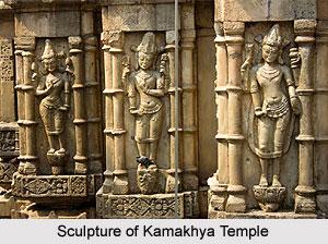 Temple Sculpture of Assam