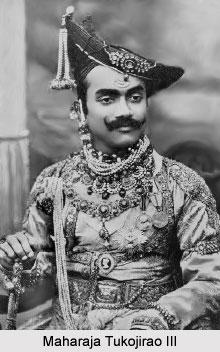 Tukojirao III, Maharaja of Dewas
