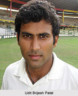 Udit Brijesh Patel, Karnataka Cricket Player