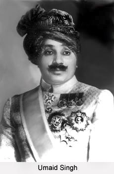 Umaid Singh, Maharaja of Jodhpur