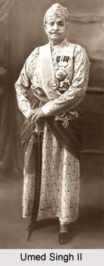 Umed Singh II, Maharaja of Kotah