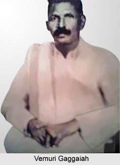 Vemuri Gaggaiah, Telugu Theatre Personality