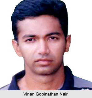 Vinan Gopinathan Nair, Kerala Cricket Player
