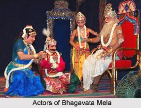 Actors in Bhagavata Mela