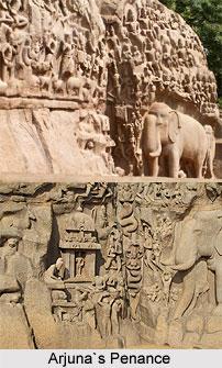 Arjuna's Penance, Stone Sculpture
