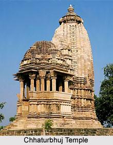 Chhaturbhuj Temple, Khajuraho, Madhya Pradesh