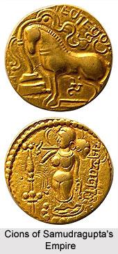 Coins of Samudraguptas Empire