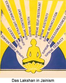 Das Lakshan Parva, Jain Ritual