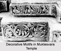 Decorative Motifs in Muktesvara Temple, Western Chalukya Sculpture