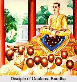 Disciple of Gautama Buddha