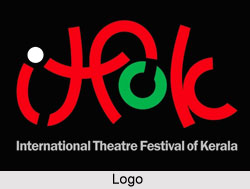 Logo of International Theatre Festival of Kerala