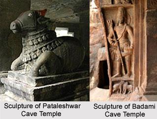 Indian Cave Temple Sculpture, Indian Sculpture