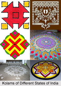 Kolams, Traditional Artistic Designs in South India