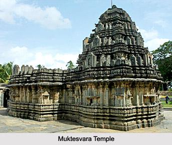 Sculpture Of Muktesvara Temple, Western Chalukya Sculpture