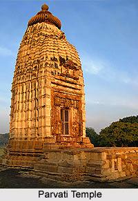 Parvati Temple, Khajuraho, Madhya Pradesh