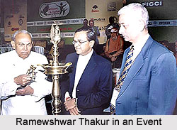 Rameshwar Thakur in an event