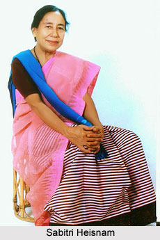 Sabitri Heisnam, Manipuri Theatre Personality