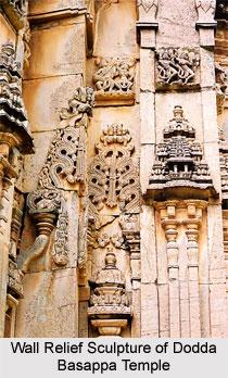 Sculpture of Dodda Basappa Temple, Dambal, Indian Sculpture
