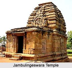 Sculpture of Jambulingeswara Temple