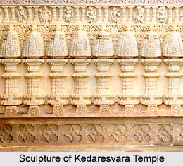 Sculpture of Kedareswara Temple