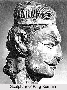 Sculpture of King Kushan