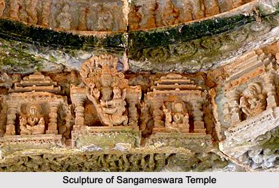 Sculpture of Sangameswara Temple, Pattadakal Temple Sculpture