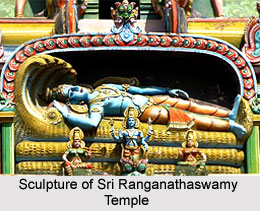 Sculpture of Sri Ranganathaswamy Temple